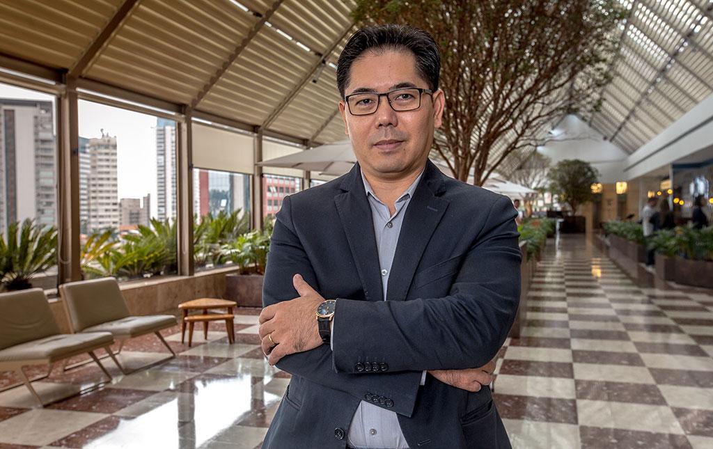 Sergio Nagai, superintendente do Shopping Eldorado - Revista Shopping Centers