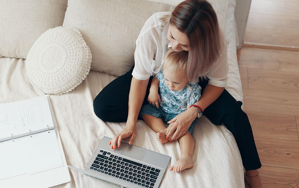 Home office produtivo com crianças - Revista Shopping Centers