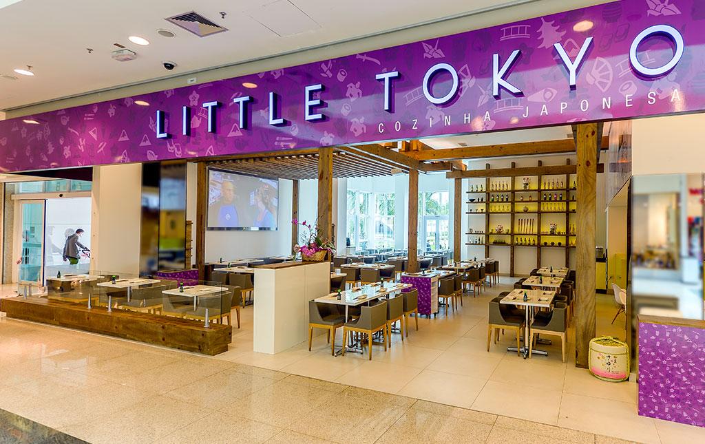 Restaurante Little Tokyo, Grupo Ornatus - Revista Shopping Centers