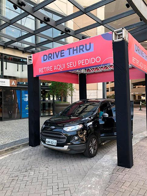Reabertura dos shoppings - Drive-thru Ancar Ivanhoe - Revista Shopping Centers