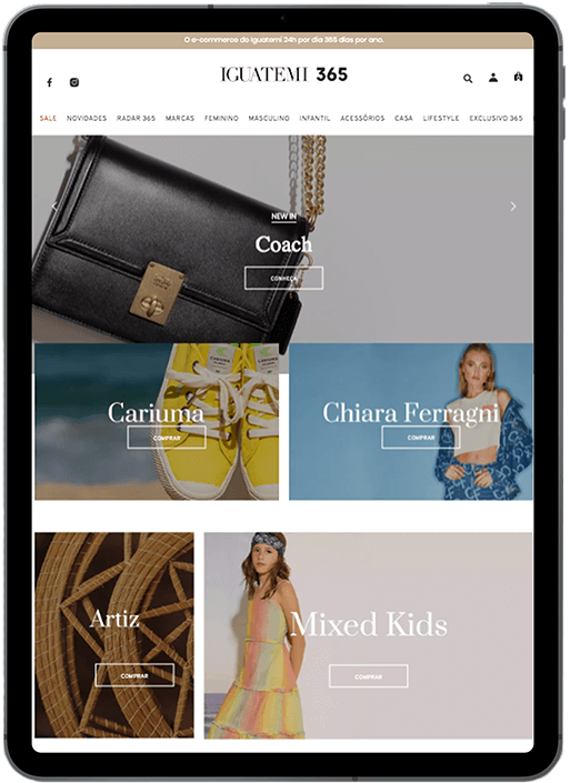 App Iguatemi 365 - Revista Shopping Centers
