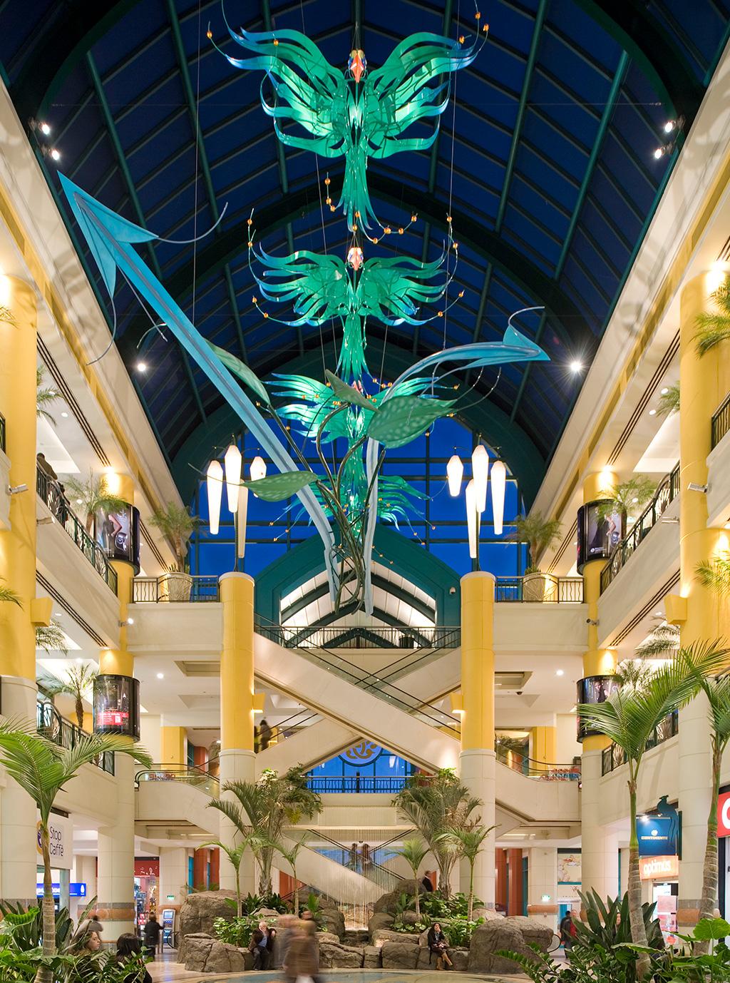 Iluminação por LED Centro Colombo - Revista Shopping Centers