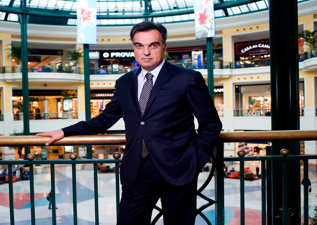 Paulo Gomes, diretor do Centro Colombo - Revista Shopping Centers
