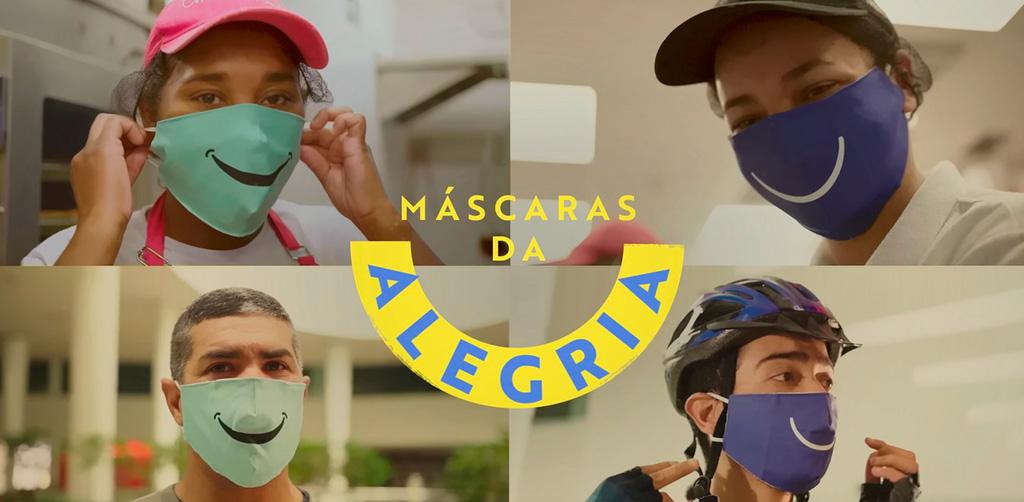 Combate e prevenção de doenças Máscaras da Alegria Palladium Shopping Center Curitiba - Revista Shopping Centers