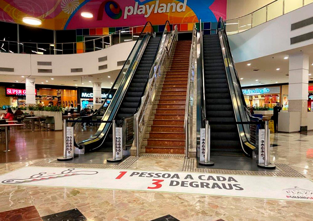Flexibilização da quarentena Grand Plaza Shopping - Revista Shopping Centers