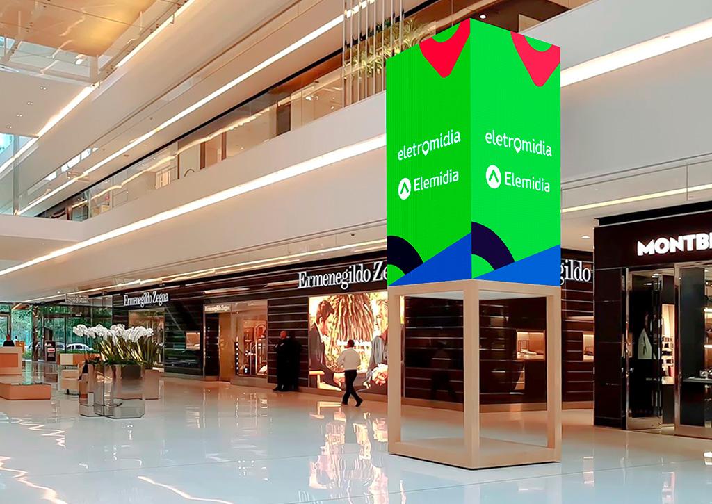 O consumidor na retomada gradual dos shopping centers Eletromídia Elemidia JK Iguatemi - Revista Shopping Centers