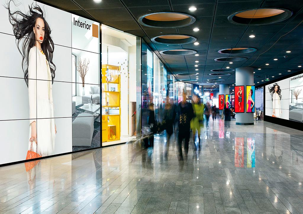 Digital Signage Panasonic - Revista Shopping Centers