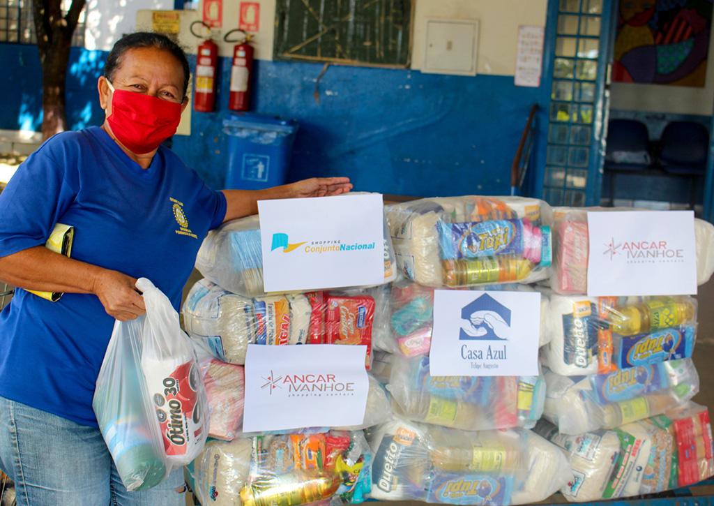 Desafio 10x10  ONG Casa Azul Felipe Augusto - Revista Shopping Centers