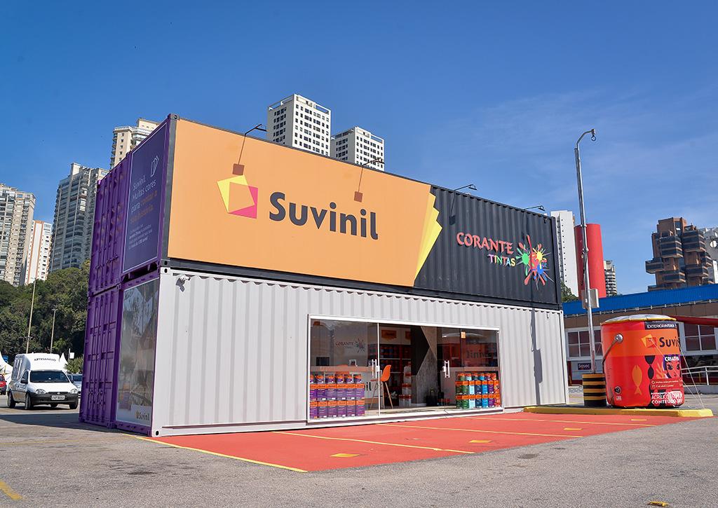 Novas receitas geradas pelos estacionamentos Container Suvinil Tintas - Revista Shopping Centers