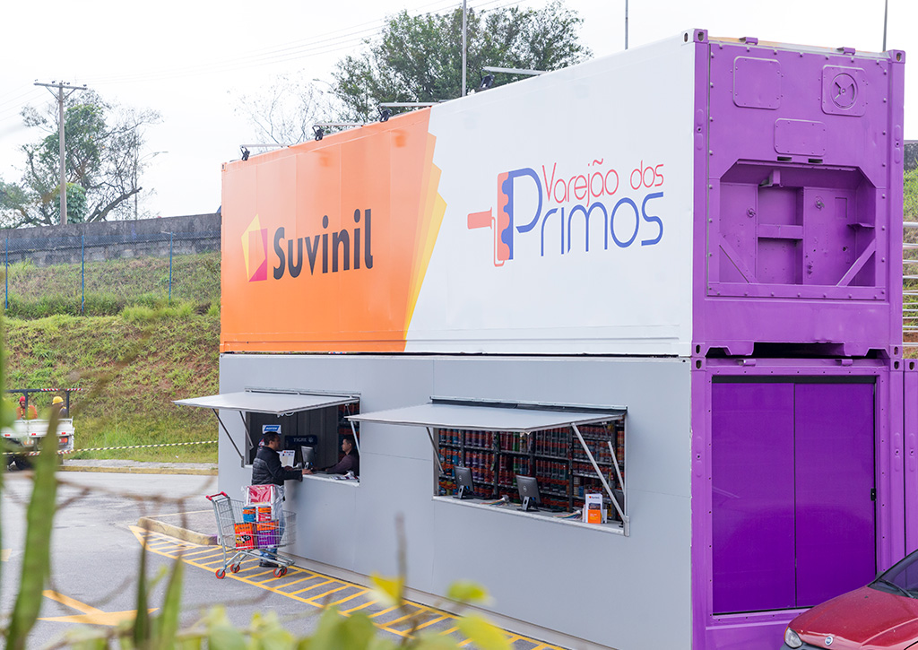 PDV Container Suvinil Tintas - Revista Shopping Centers