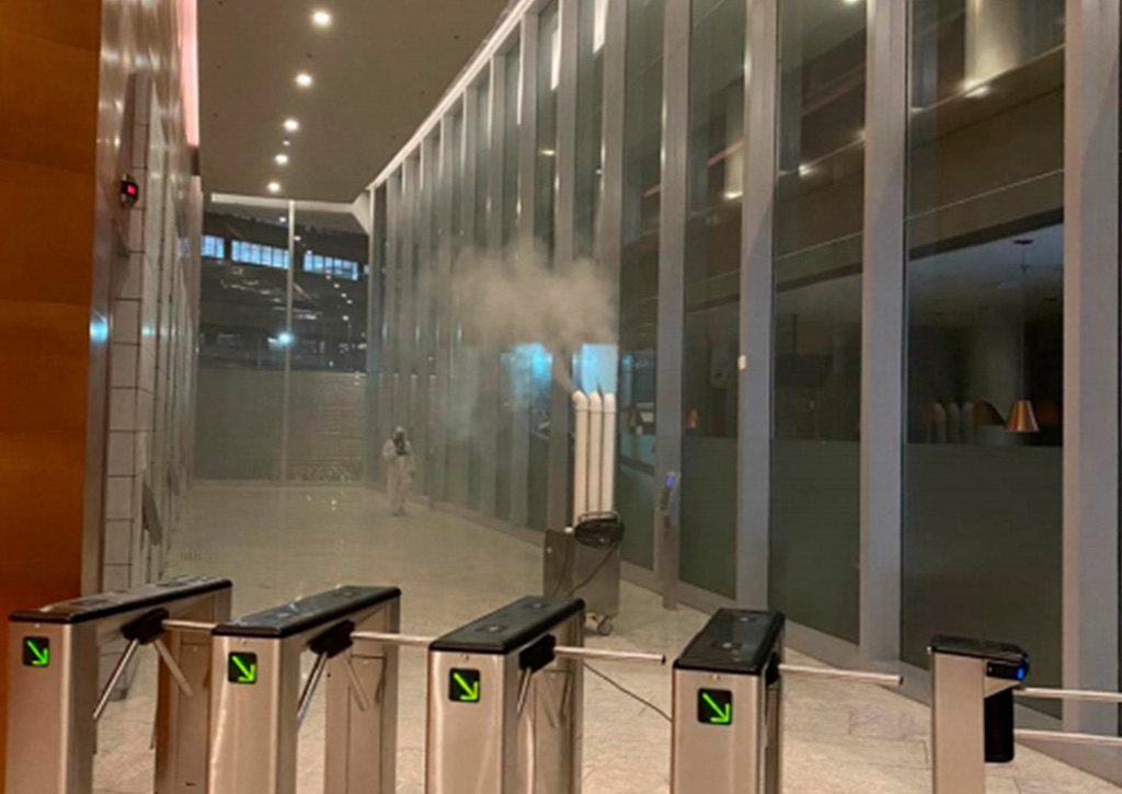 Soluções tecnológicas de limpeza Vivante - Revista Shopping Centers