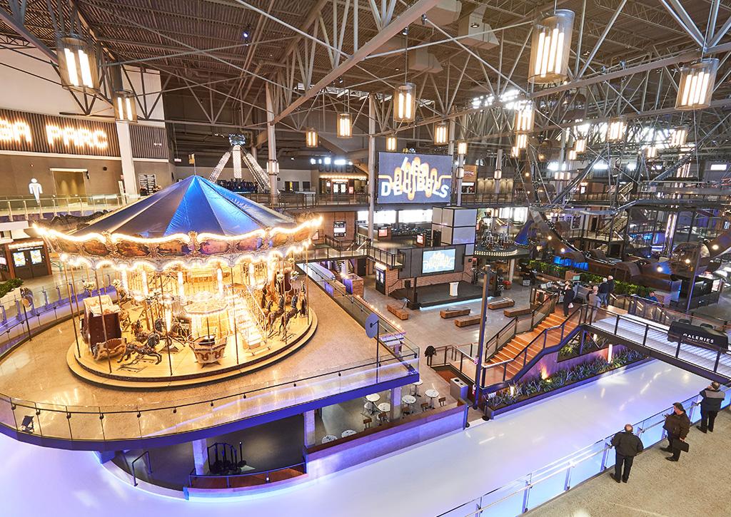Méga Parc Les Galeries de La Capitale - Revista Shopping Centers