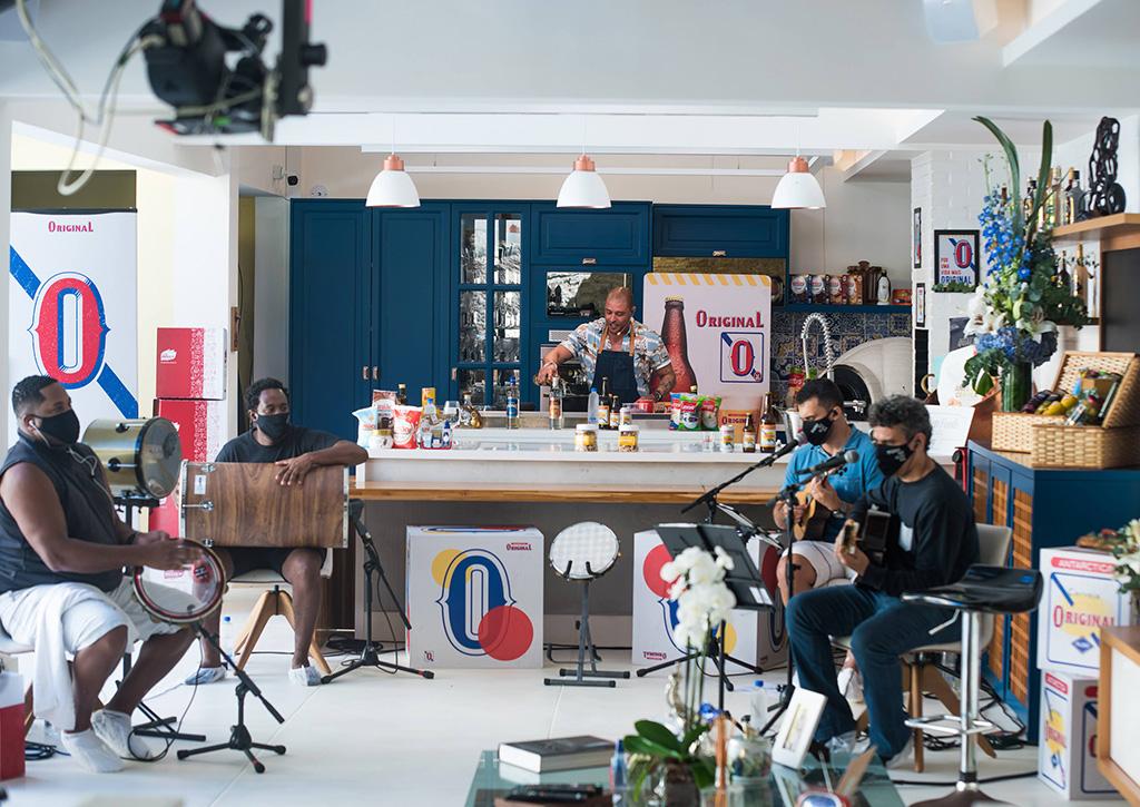 Bastidores Live Diogo Nogueira - Revista Shopping Centers