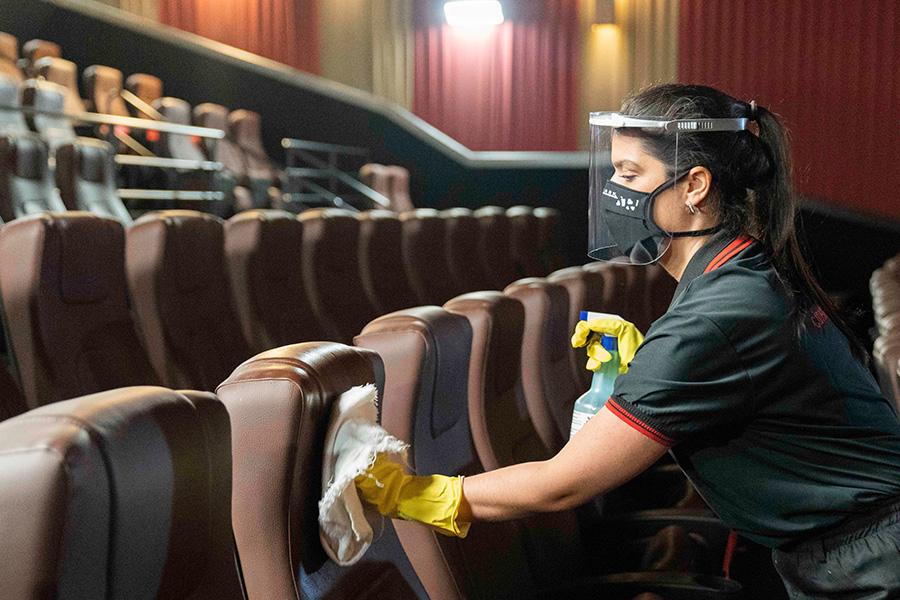 Retomada nos cinemas Cinemark - Revista Shopping Centers