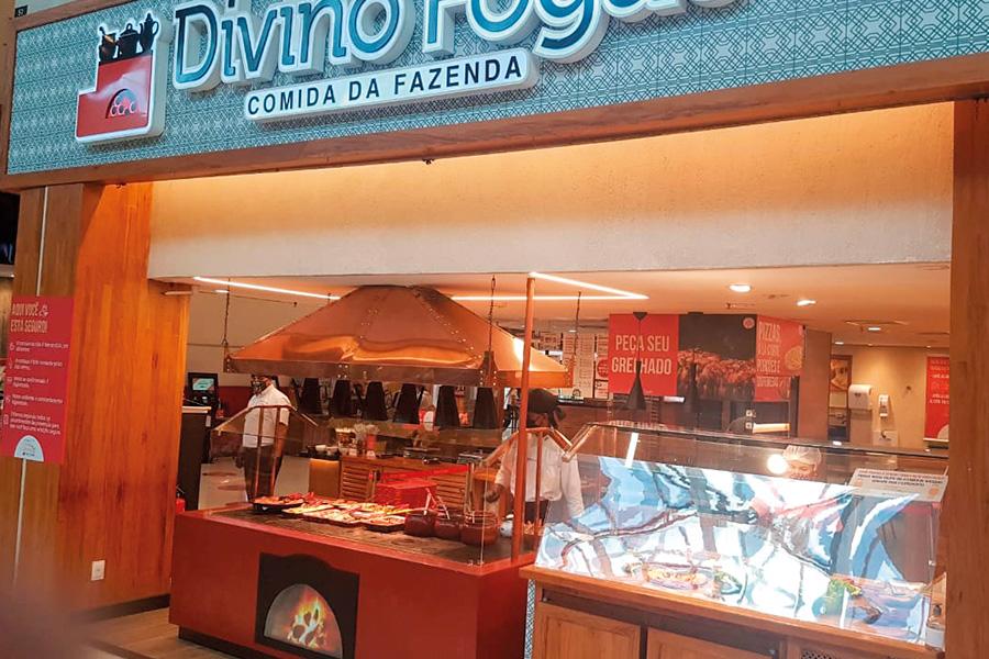 Novas unidades Divino Fogão - Revista Shopping Centers