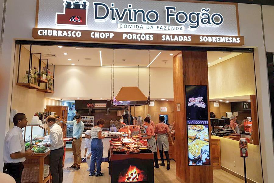 Divino Fogão Nova América - Revista Shopping Centers