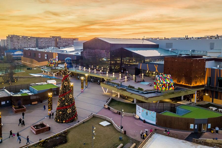 Área externa ParkLake - Revista Shopping Centers