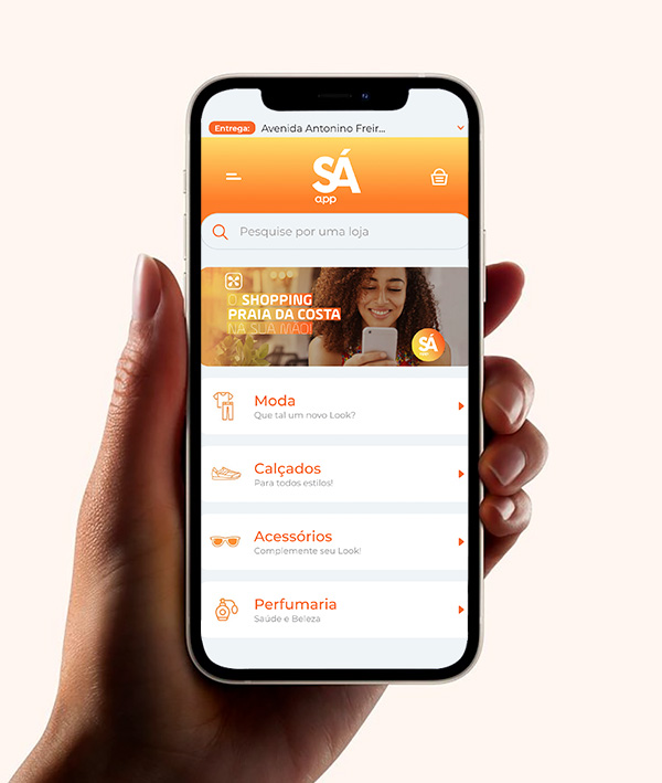 Sá App - Revista Shopping Centers