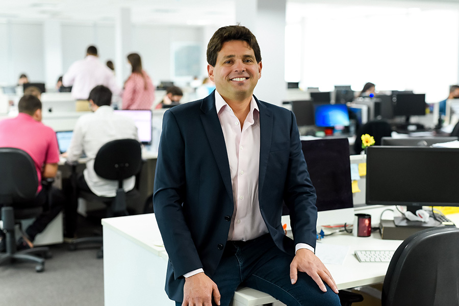 Presidente do Grupo Leonardo Sá Cavalcante - Revista Shopping Centers