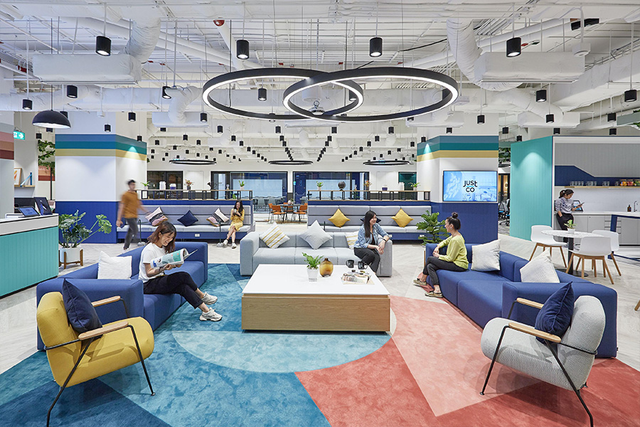 Co-working Just Co Bangcoc - Revista Shopping Centers