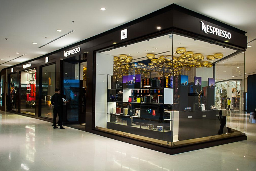 Boutique Nespresso - Revista Shopping Centers