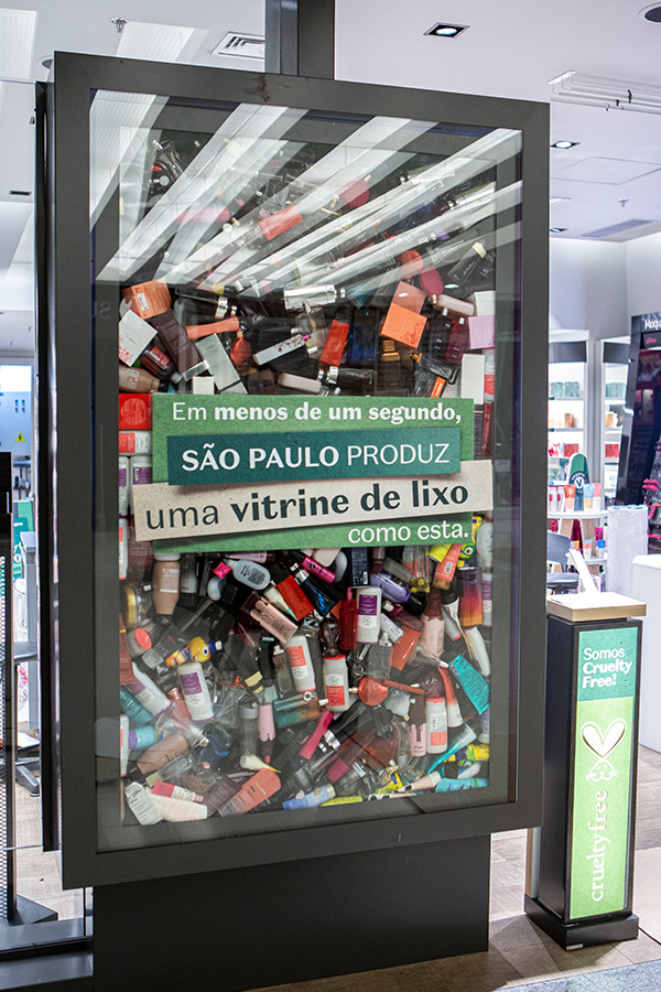 Programa de logística reversa o Boticário Boti Recicla  - Revista Shopping Centers