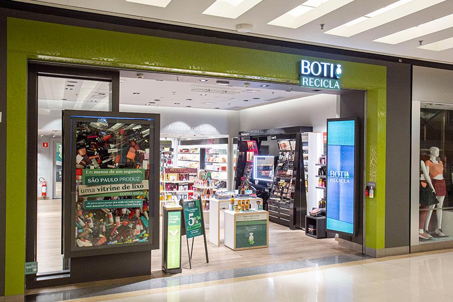 PDV Boti Recicla O Boticário - Revista Shopping Centers