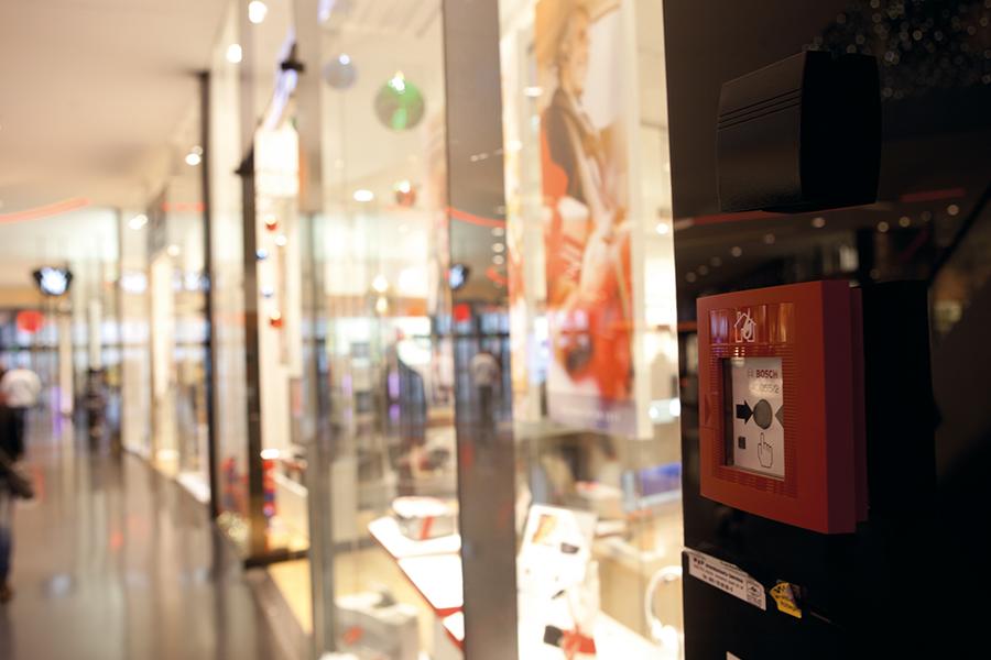 Soluções Bosch Prevenção e combate a incêndios nos shoppings - Revista Shopping Centers