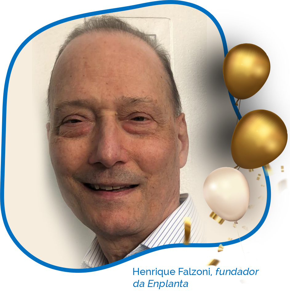 Henrique Falzoni Enplanta 45 anos Abrasce - Revista Shopping Centers