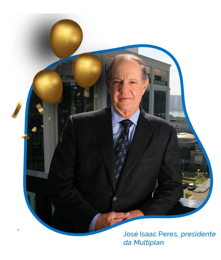 José Isaac Peres Multiplan 45 anos Abrasce - Revista Shopping Centers
