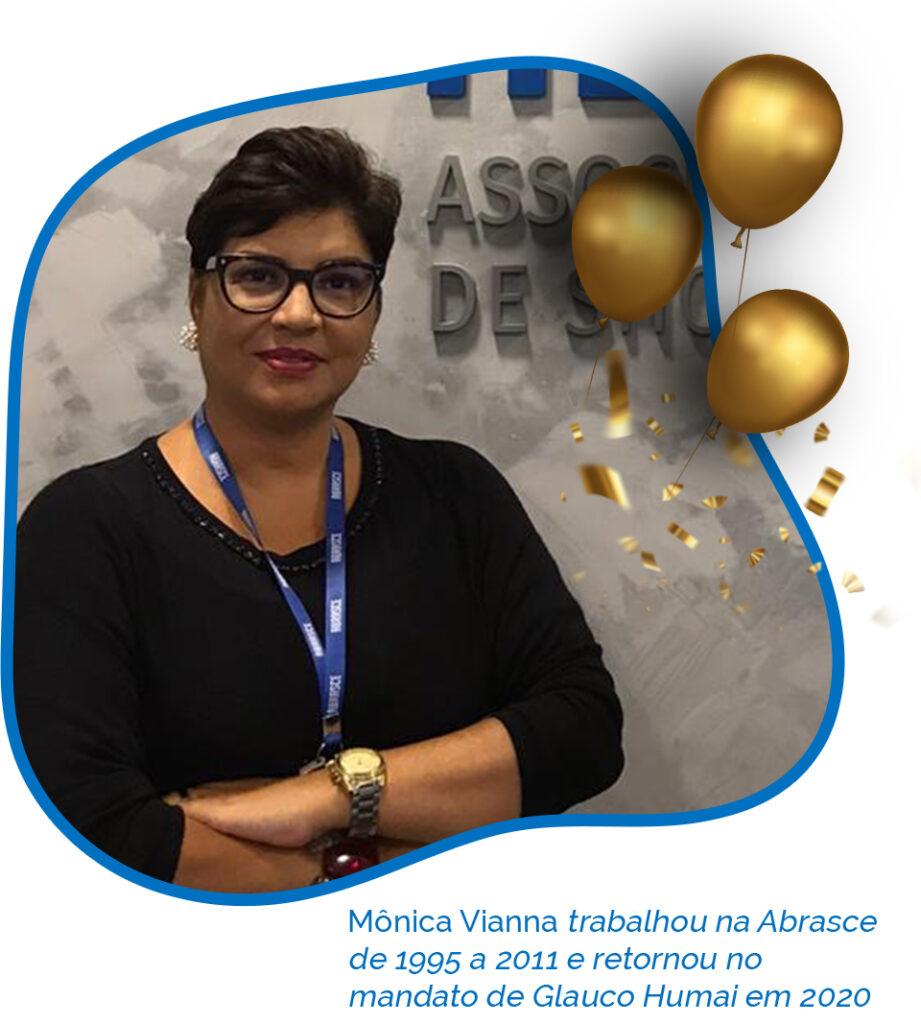 Monica Viana 45 anos Abrasce - Revista Shopping Centers