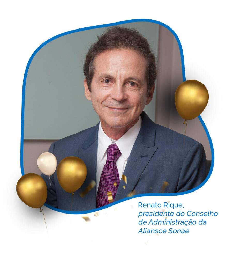 Renato Rique Aliansce Sonae 45 anos Abrasce - Revista Shopping Centers