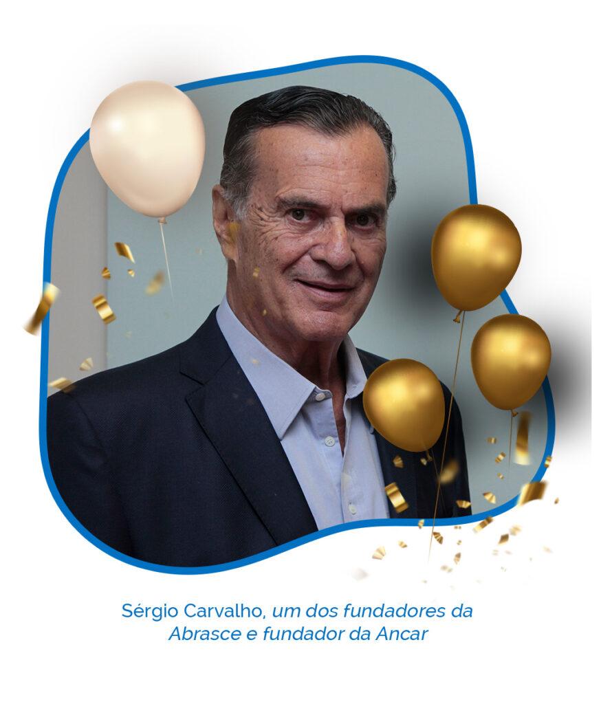 Sérgio Carvalho 45 anos Abrasce - Revista Shopping Centers